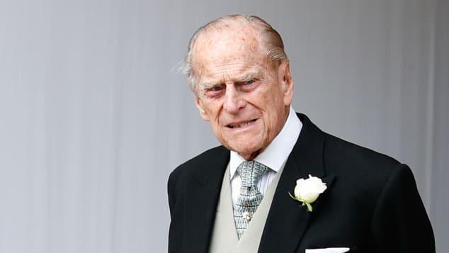 Prinz Philip bei Hochzeit von Prinzessin Eugenie und Jack Brooksbank