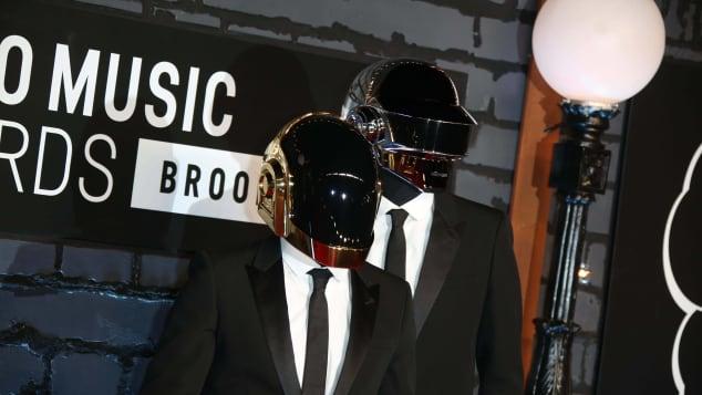 Daft Punkt bei den MTV Video Music Awards 2013