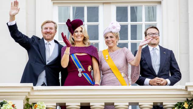 Niederländische Königsfamilie