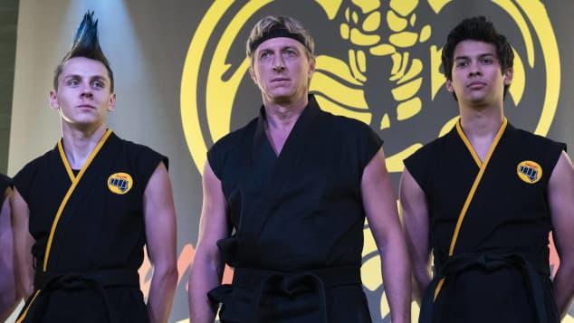 Cobra Kai; Jacob Bertrand; William Zabka; Xolo Maridueña