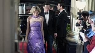 """""""The Crown"""" Josh O'Connor, Emma Corrin"""