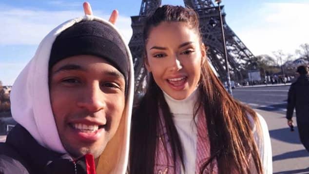 GNTM Enisa ist die Freundin von YouTube-Star Simon Desue