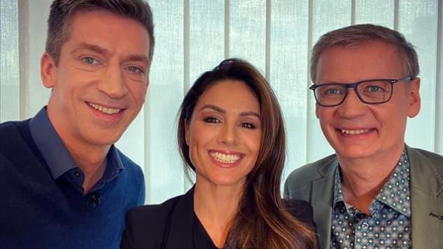 Steffen Hallaschka, Nazan Eckes und Günther Jauch