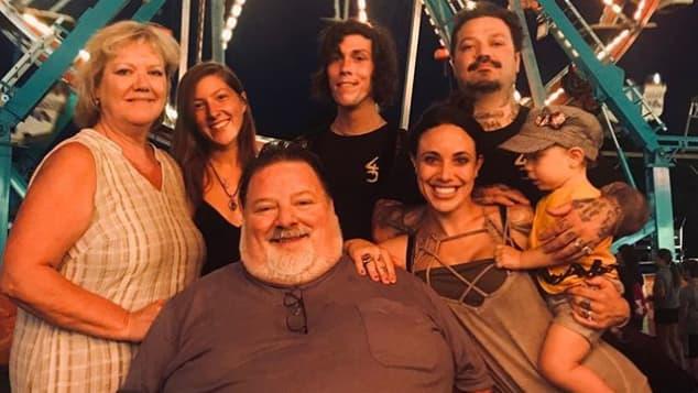 """""""Viva la Bam""""-Familie"""