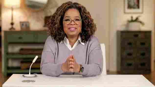 Oprah Winfrey während der Global Citizen Prize Awards Special Honoring Changemakers 2020