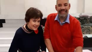 Iris Abel und Uwe Abel