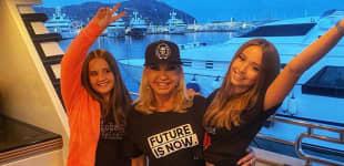 Carmen Geiss mit ihren Töchtern Davinia Geiss und Shania Geiss