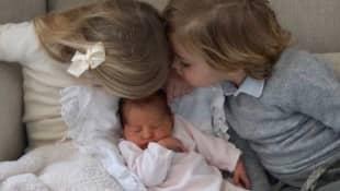 Prinzessin Madeleines jüngste Tochter und Leonore und Nicolas