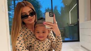 Kylie Jenner und ihre Tochter