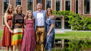 Amalia, Máxima, Ariane, Willem-Alexander und Alexia