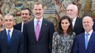 Königin Letizia und König Felipe von Spanien