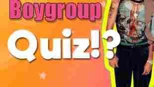 Boygroup-Quiz