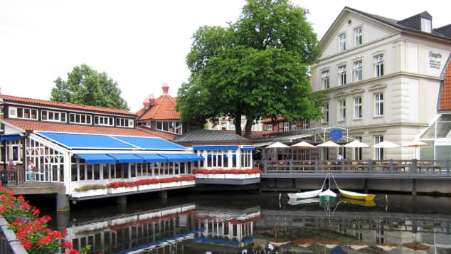 """""""Rote Rosen"""" Lüneburg Hotel Bergström"""