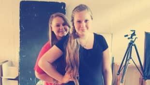 Sarah-Jane und Lavinia Wollny