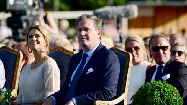 Prinzessin Madeleine und Christopher O´Neill