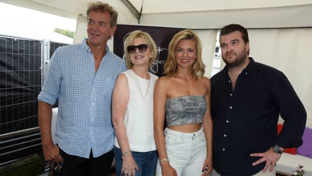Carmen Nebel und Familie