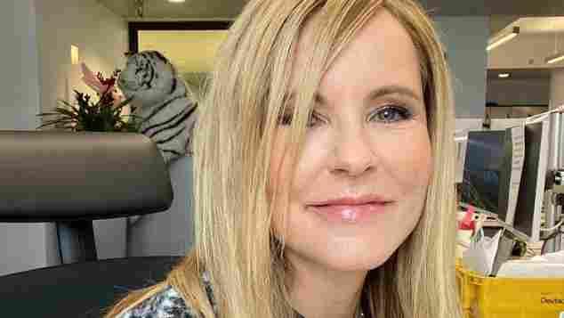 Katja Burkhard glatte Haare