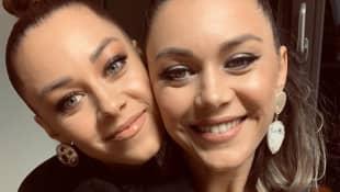 Oana Nechiti und ihre Schwester; Oana Nechiti; Diana Oprea