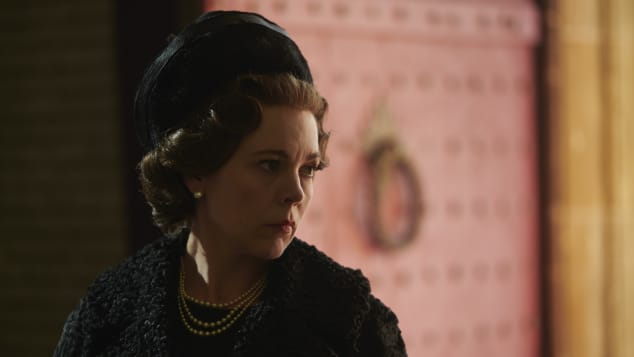"""Olivia Colman in """"The Crown"""""""