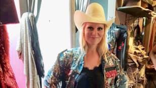 Jenny Löffler Cowboy Outfit