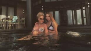 Carmen Geiss wehrt sich Kritik  Bikini-Bild Davina