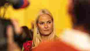 Kronprinzessin Mette-Marit meidet Oslo wegen Corona-Virus