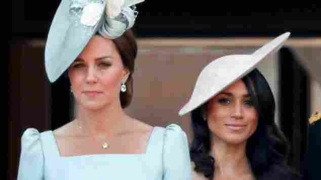Herzogin Kate, Kate Middleton, Herzogin Meghan, Meghan Markle, Herzogin Kate und Meghan, Wimbledon Finale