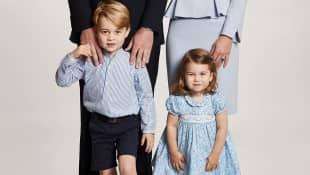 Prinz William, Herzogin Catherine, Prinz George und Prinzessin Charlotte