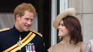 Prinz Harry und Prinzessin Eugenie