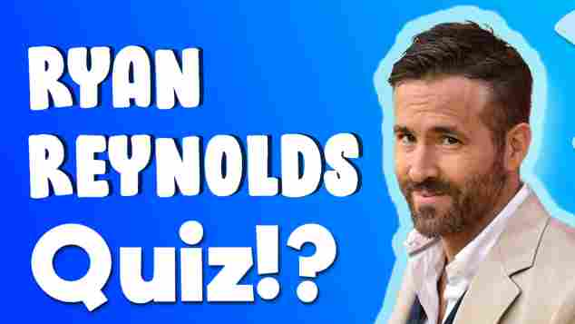ryan reynolds quiz
