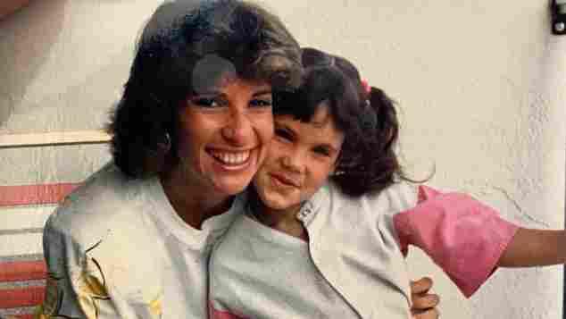 Daniela Ruah mit ihrer Mama