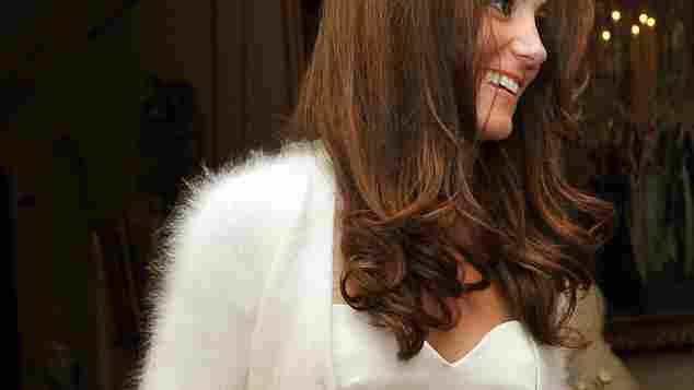 Herzogin Kates zweites Hochzeitskleid