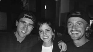 Matthew Lewis, Emma Watson und Tom Felton
