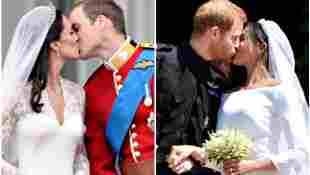 Herzogin Kates und Herzogin Meghans Hochzeit