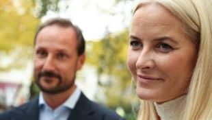 Prinzessin Mette-Marit und Prinz Hakoon
