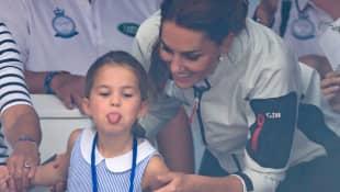 Prinzessin Charlotte und Herzogin Kate