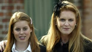 Prinzessin Beatrice mit Mutter Sarah Ferguson