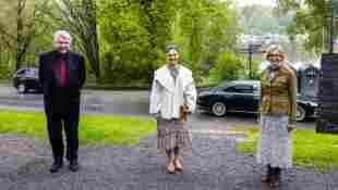Prinzessin Victoria von Schweden bei der Jahresversammlung der Freunde des Nordischen Museums und Skansen am 24. Mai 2021