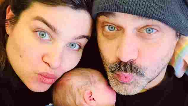 Raphaël Vogt mit seiner Freundin Kati und seiner Tochter