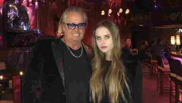 Robert Geiss erhielt von seiner Tochter Davina süße Glückwünsche
