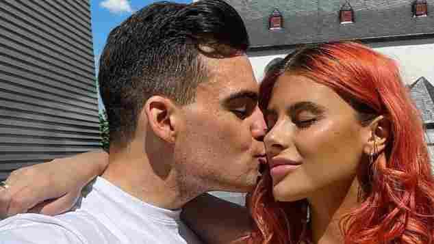 Romina Palm und Stefano Zarrella auf Instagram
