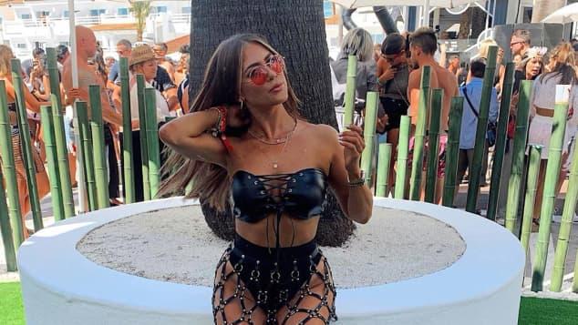 Jessica Paszka auf Ibiza 2019