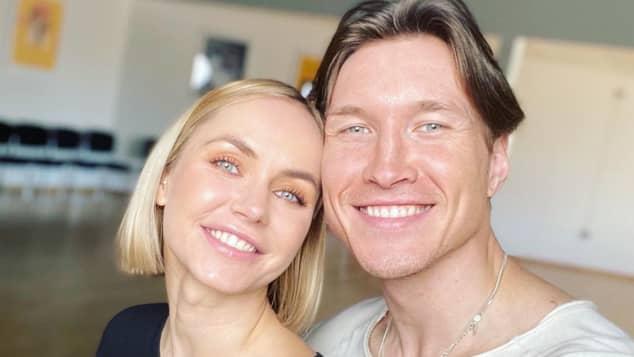 Evgeny Vinokurov und Nina Bezzubova