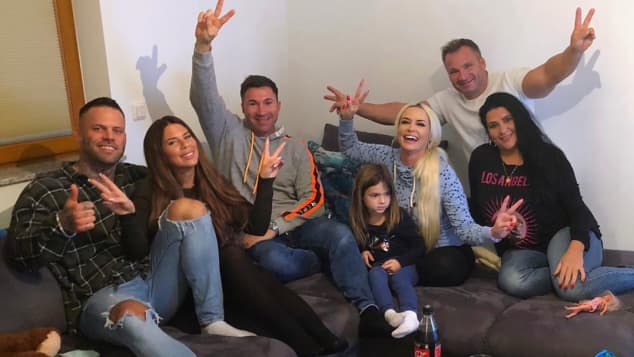 Daniela Katzenberger und Familie