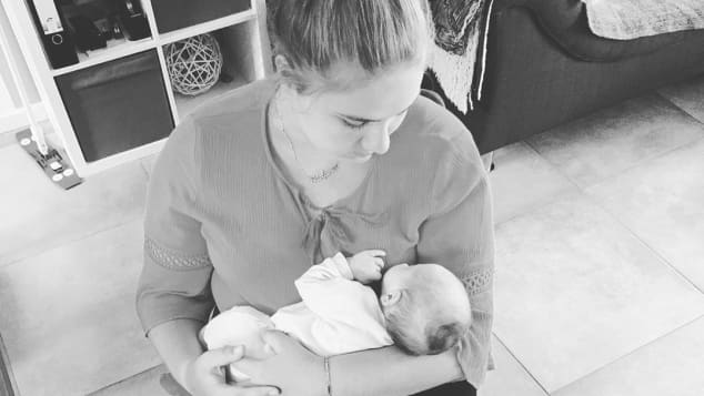 Estefania Wollny Baby Sylvana Wollny Bild