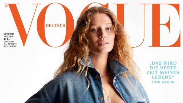 """Toni Garrn auf der """"Vogue"""""""
