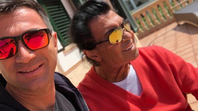 Lucas und Costa Cordalis: Beim Anblick des Schlagersängers machen sich viele Fans Sorgen