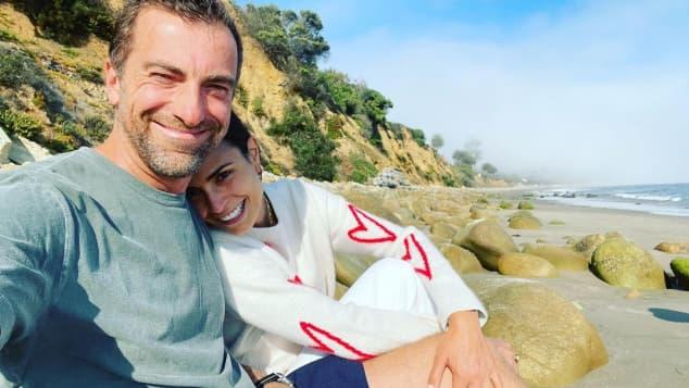 Jordana Brewster und ihr Verlobter Mason Morfit