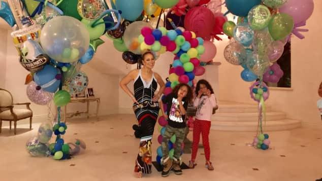 Die Zwillinge von Mariah Carey, Monroe und Moroccan, wurden feierten ihren siebten Geburtstag