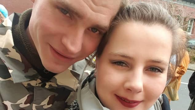 Peter Heck und Sarafina Wollny